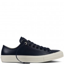Zapatillas Converse para mujer chuck ii mesh negro leather obsidian/parchment/negero_020