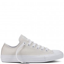 Zapatillas Converse para mujer chuck taylor all star sting ray metallic leather blanco/negero/blanco_211