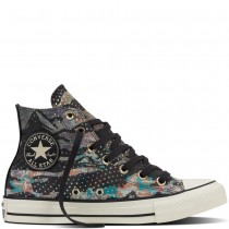 Zapatillas Converse para mujer chuck taylor all star mountain almost negero/light gold/egret_097
