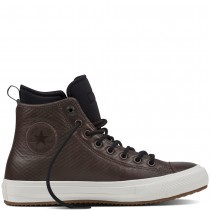 Zapatillas Converse para hombre chuck ii waterproof mesh negroed leather boot dark chocolate_068