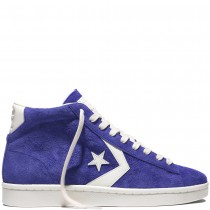 Zapatillas Converse para hombre cons pro leather '76 suede candy grape/egret/egret_036