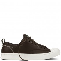 Zapatillas Converse para hombre jack purcell m-series tumbled leather hot cocoa/verde onyx/egret_014