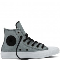 Zapatillas Converse para hombre chuck ii two-tone leather negero_063