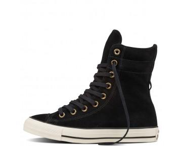Zapatillas Converse para mujer chuck taylor all star high-rise suede boot negero_013