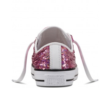 Zapatillas Converse para mujer chuck taylor all star holiday party passion rosa/blanco/negero_182