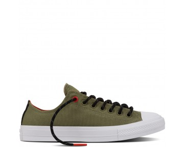 Zapatillas Converse para mujer chuck ii shield canvas fatigue verde_051