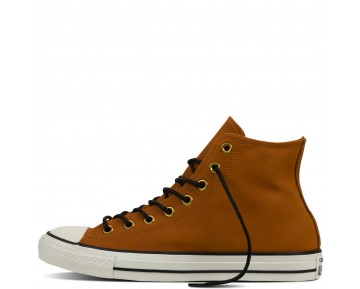 Zapatillas Converse para mujer chuck taylor all star leather antique sepia/egret/negero_187