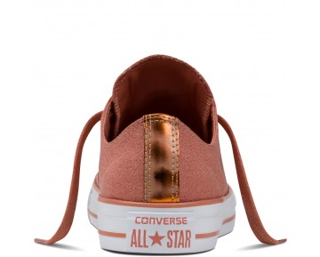 Zapatillas Converse para mujer chuck taylor all star brush off rosa blush/blush gold/blanco_036