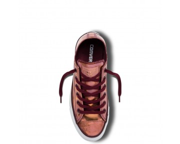 Zapatillas Converse para mujer chuck taylor all star brush off deep bordeaux/blush gold/blanco_035