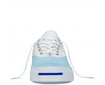 Zapatillas Converse para mujer jack purcell signature cvo ambient azul/egret/purple dusk_021