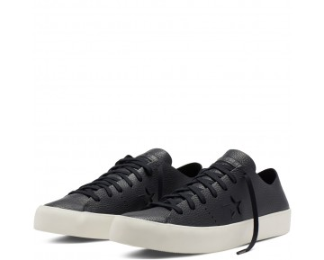 Zapatillas Converse para hombre cons one star prime leather negero/negero/egret_021