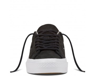 Zapatillas Converse para hombre cons one star leather negero/ash grey/gum_016