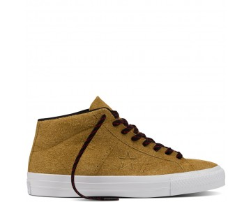 Zapatillas Converse para hombre cons one star pro suede antiqued/negero/blanco_024