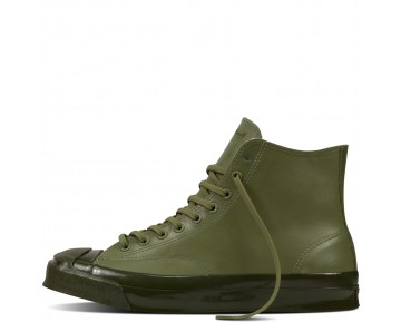 Zapatillas Converse para hombre jack purcell signature rubber fatigue verde/herbal_030