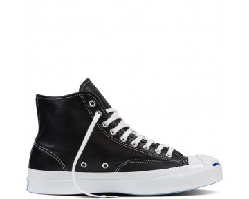 Zapatillas Converse para hombre jack purcell signature leather negero_026