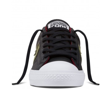 Zapatillas Converse para hombre cons star player negero/fatigue verde/rojo block_047