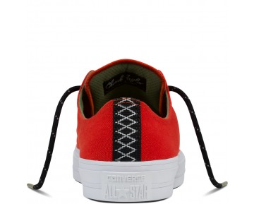 Zapatillas Converse para hombre chuck ii shield canvas signal rojo/fatigue verde/gum_053