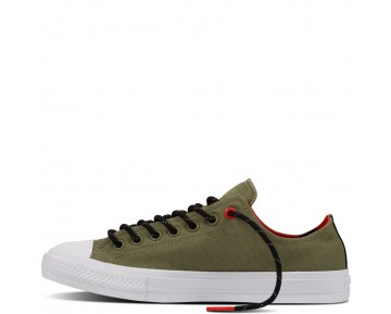 Zapatillas Converse para hombre chuck ii shield canvas fatigue verde_055