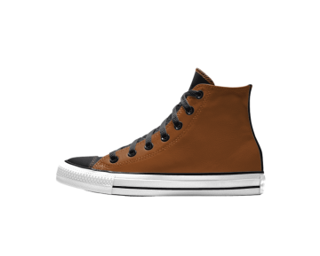 Zapatillas Converse Unisex chuck taylor premium leather marrón_034